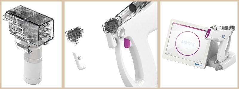 水光注射と水光注射のヘッド